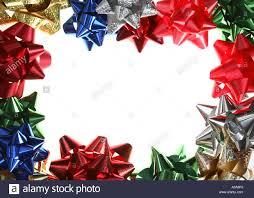 christmas bow border stock photo royalty free image 10722137 alamy