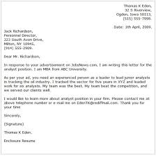 mba cover letter examples unique sample cover letter for hr 89 on