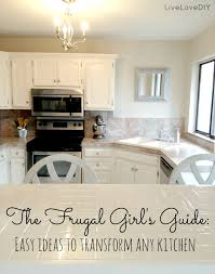 Updating Kitchen Ideas Livelovediy Creative Ways To Update Your Kitchen Using Paint