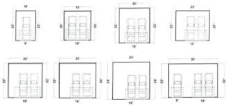dimensions of a 2 car garage 2 car garage dimensions 135 2 car garage door dimensions 2 car