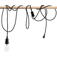 pendant light bulbs charming hanging light bulb cord 17 on awesome room decor with