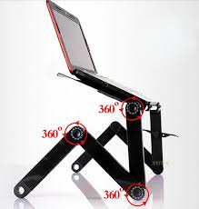 Mobile Laptop Desks Multi Functional Ergonomic Mobile Laptop Table Stand For Bed