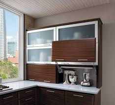 Flip Up Cabinet Door Hardware Starmark Cabinetry Wall With Appliance Door Vertical Lift Up The
