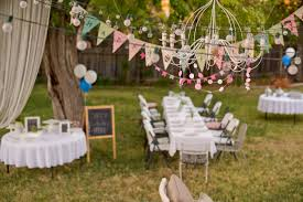 ideas of backyard birthday party decorating of party