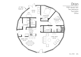 27 monolithic dome homes floor plans floor plan dl 4603