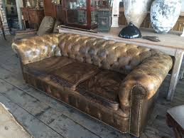 Vintage Chesterfield Sofas Leather Chesterfield Sofa Comfortable Loccie Better Homes