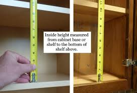 kitchen cabinet height how to measure kitchen cabinets vertical spice