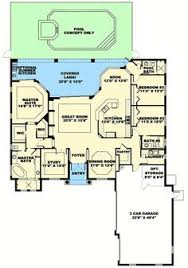 one story house blueprints florida one story house designs plan w66237we two story