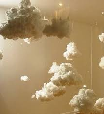 how to make a cloud light diy cloud ls final step for bella s room cool ideas