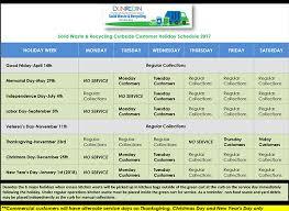 collection schedule dunedin fl