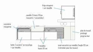 hauteur ent haut cuisine hauteur standard plan de travail cuisine hauteur standard