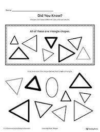 trace and drawing shapes to count drawings the shape and shape