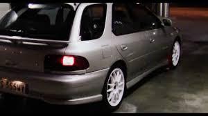 stanced subaru wagon subaru impreza turbo wagon youtube