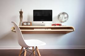 modern minimalist desk home design