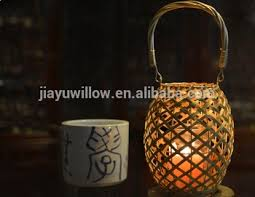 Wicker Table Lamp Yellow Handmade Wicker Table Lamp Wedding Hanging Lamp Christmas