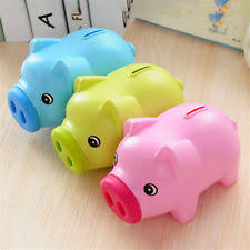 piggy bank favors piggy plastic bank all seasons gift pig unbreakable must cut to