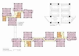 princeton university floor plans gallery of phase ii building complex mackay medical college