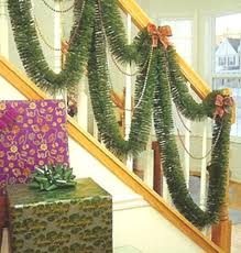 garland for staircase