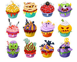 Halloween Cupcakes And Cakes by Halloween Candy Clipart Halloween Clipart Halloween Cupcake