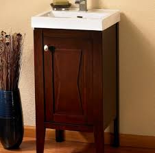 attractive 18 bathroom vanity with sink in vanities wide inch
