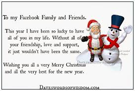 daveswordsofwisdom merry to my family and