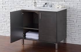 Silver Bathroom Vanity Abstron 36 Inch Silver Oak Finish Single Sink Bathroom Vanity