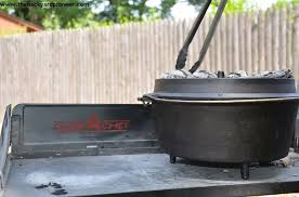 lodge dutch oven table c chef 38 dutch oven c table a gear review