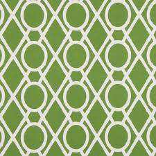 on sale green trellis cotton fabric
