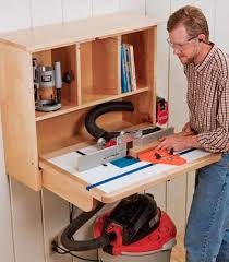 Building A Router Table by Building A Wall Mounted Router Table Rockler How To
