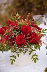 christmas floral arrangements best 25 christmas floral arrangements ideas on