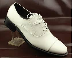 working office shoes mens genuine leather shoes white dress shoes