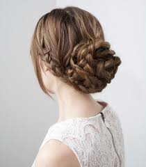 chignon tressã mariage paging rapunzel 3 fancy looking diy hair styles for brides with