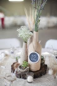 numero table mariage décoration de mariage pour la table en 80 idées originales