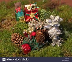 christmas gifts pine cone decorations stock photos u0026 christmas