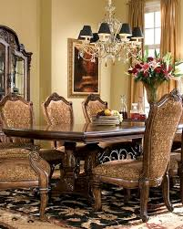 Michael Amini Dining Room Furniture Dining Table Windsor Court Ai 70002tbms