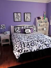 Zebra Print Room Decor bedroom large ideas for teenage girls purple brick expansive table