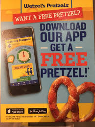 sale at wetzel u0027s pretzels