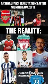 soccer memes arsenal fans have been let down just a bit facebook