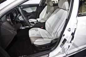 Optima Kia Interior Facelifted 2014 Kia Optima Hybrid Debuts At 2014 Chicago Auto Show