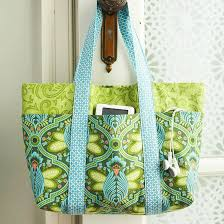 pattern for tote bag with zipper easy multi pocket tote bag free sewing tutorial