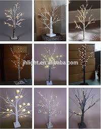 premier cherry led twig tree white mini led cherry