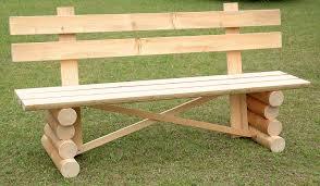 panchina in legno da esterno panca per esterno la sgubia falegnameria artigianale a
