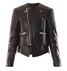 ladies motorcycle leathers kerr quilted biker leather jacket sale