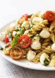 best pasta salad recipe caprese pasta salad pip and ebby