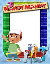 123 handy manny images coloring pages