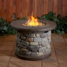 gas fire table be cozy around the fire all year long at sears
