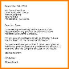 sample maternity resignation letters teacher assistant