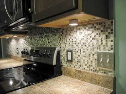 how to install light under kitchen cabinets decor nice peel and stick mosaic tile backsplash with switch
