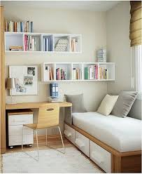 Desk And Bookshelves by Modern Ikea Small Bedroom Designs Ideas Modern Bed With Storage
