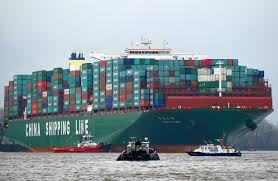 bigger container ships pose bigger risks wsj